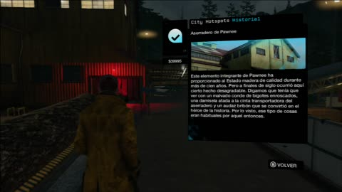 WATCH DOGS - GHOST SAWMILL EASTER EGG MISTERY