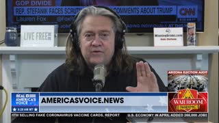 Bannon: Biden's Political Capital is 'Bleeding Out' in Arizona Where They're Finding Fraud