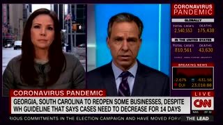 Jake Tapper slams de Blasio's post-coronavirus parade idea