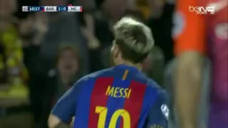 VIDEO: Leo Messi scores the 2nd goal vs Manchester City