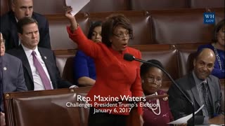 Rep. Maxine Waters Challenging 2016 Election