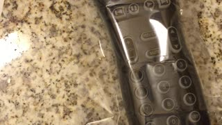 Sanitizing a Hotel Remote with Shrinkwrap - Video