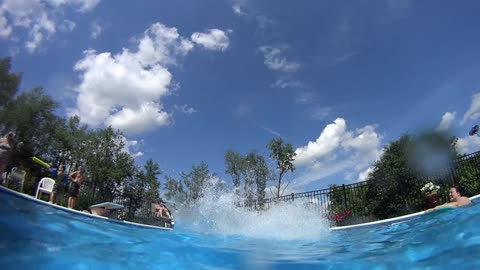 Diving Board, Boat Dock and Lake Action Shots - OH MY