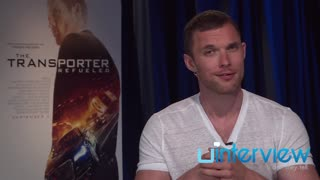 Ed Skrein on 'Transporter Refueled', 'Deadpool', workout regime - Video