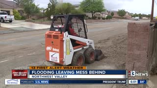 Northwest flooding leaves mess behind - Video