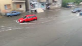 Floods in Skopje, Macedonia - Video