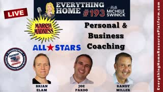 193 LIVE: BONUS DAY of March Maskless Madness - Personal & Business Coaching *** ALL STAR TEAM ***
