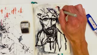 Inspiration art | Time-Lapse | Drawing Jesus