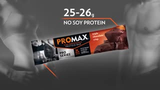 Promax Nutrition - All About The Pro Series Bars - Video