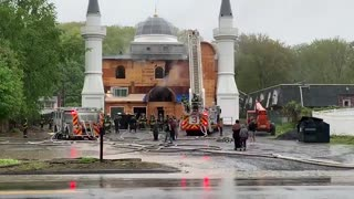 Investigators: Two-alarm fire at Connecticut mosque was intentional