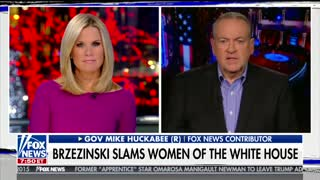 Mike Huckabee Tells Mika Brzezinski To 'Go Pound Sand' After She Attacks His Daughter - Video