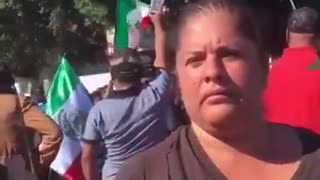 Tijuana resident upset - tells the truth about the caravan