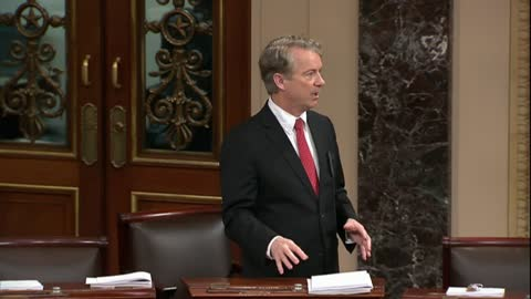 Rand Paul Pens Blistering Post-Shutdown Op-ed: 'I Wasn't Elected to Be Anyone's Rubber Stamp'