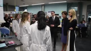 Ivanka Trump tours Iowa school district