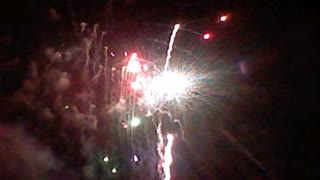 Fun fireworks at the park! - Video