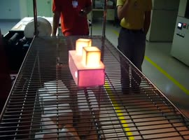 2200 Degrees Cube Can Grab Bare Hand - Video