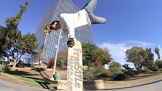 Unbelievable Freestyle Skateboarding Tricks  - Video