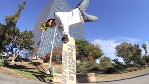 Unbelievable Freestyle Skateboarding Tricks
