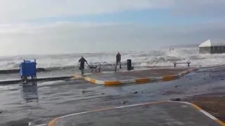 These almost wave them away. - Video