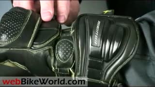 C.E. Tested Motorcycle Racing Gloves With Metalwear - Video