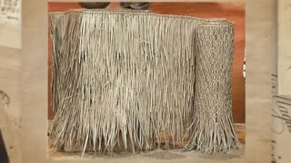 Tiki Thatch Panels Cheap For Sale - Video