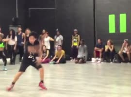 11-Year-Old Boy Dancing with a Passion to Lady Gaga's Applause - Video