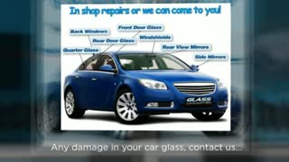 Get your Auto Glass repaired at Los Angeles - Video