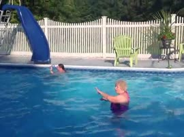 Diving Board Fail - Video