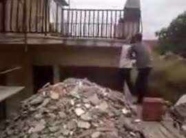Clever Way to Remove Roof Tiles - Video