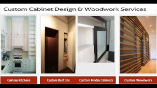Custom Media Cabinets NYC - Video