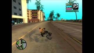 GTA VCS - FUN WITH BMX - Video