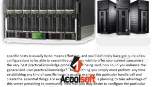 You could possibly begin with Server Parts Melbourne - Video