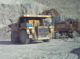 Large mining machines - Video