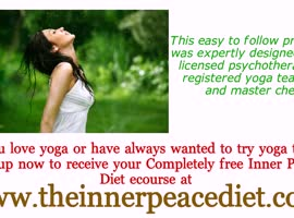 RECEIVE YOUR FREE INNER PEACE DIET COURSE TODAY