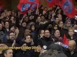 Goal Ibrahimovic - PSG 4-0 Olympique Lyon (01-12-2013) Highlights - Video