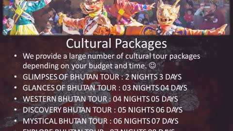 Bhutan packages, Bhutan tourism packages, Bhutan travel packages