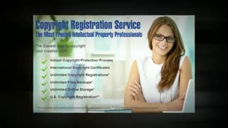 Copyright registration | How to copyright something | How to copyright a book - Video