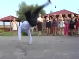 Epic Wedding Dance Off!