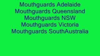 Mouthguards Perth - Video