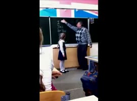 Girl a lesson his teacher - Video