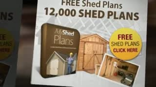 Shed plans by Storage Shed Plans - Video