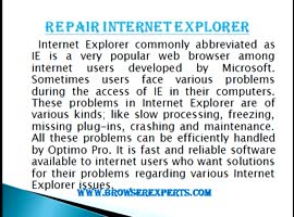 Browser Expert - Video