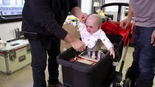 Remote-Controlled Devil Baby Torments New York City - Video