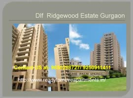 Dlf Ridgewood Estate Ready To Move Apartments @9650268727