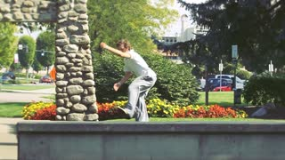 Slow Motion Parkour with No Anchor - Video
