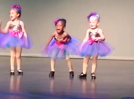 Tiny Adorable Tap Dancer Steals The Show - Video