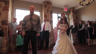 Father and Daughter's 'Non-Traditional' Wedding Dance - Video