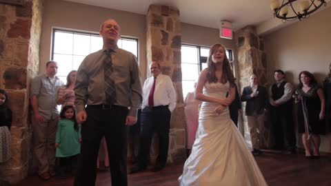 Father and Daughter's 'Non-Traditional' Wedding Dance