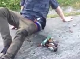 -Why You Shouldn't Skate with a Case of Beer- - Video