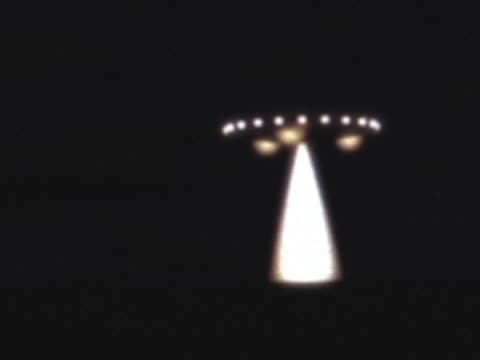UFO Over The Desert At Night?